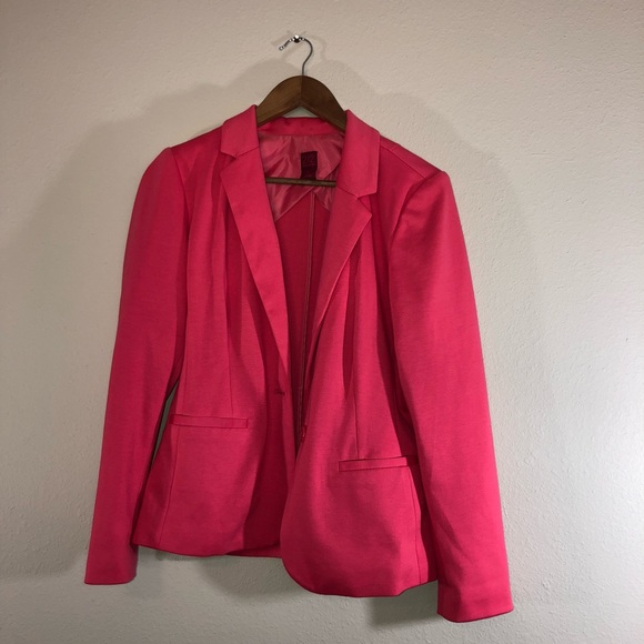 7796ff509609e 212 Collection Jackets   Blazers - 212 Collection Pink Blazer